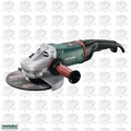Metabo W 24-230 MVT 15 Amp MVT Angle Grinder with Deadman Switch