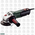 "Metabo WP9-115 Quick 4-1/2"" 8 AMP Angle Grinder w/ Non-Locking Paddle Switch"