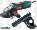 "Metabo WQ1000 5"" Tuck Point Grinder w/ Dustless Tuck Pointing Guard"