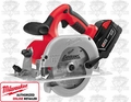 "Milwaukee 0730-22 M28 Cordless 6-1/2"" Circular Saw Kit"