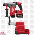 "Milwaukee 0757-22DE M28 FUEL 1-1/8"" SDS Plus Rotary Hammer w/ Dust Extractor"