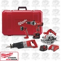 Milwaukee 0920-29 V18 Lithium-Ion Combo Kit