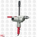 "Milwaukee 1854-1 3/4"" 350 RPM Long Handle Large Drill"
