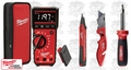 Milwaukee 2220-20 4 Piece Electrical Test and Measurement Combo Kit