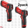 Milwaukee 2266-20 2pk Laser Temp-Gun