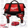 Milwaukee 2276-23 Cordless Laser Temp-Gun Thermometer Kit