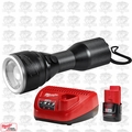 Milwaukee 2355-20 M12 LED Flashlight w/ 2.0Ah Battery + Charger