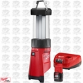 Milwaukee 2362-20 M12 LED Lantern/Flood Light w/ 2.0Ah Battery + Charger