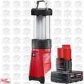 Milwaukee 2362-20 M12 LED Lantern/Flood Light with XC 4.0Ah Battery