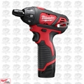 Milwaukee 2401-22 M12 12 Volt Lithium-Ion Sub-Compact Driver
