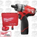 "Milwaukee 2402-22 12 Volt M12 FUEL 1/4"" Hex 2-Speed Screwdriver Kit"