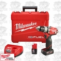 "Milwaukee 2403-22 M12 FUEL 1/2"" Drill/Driver Kit"