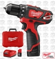 Milwaukee 2407-22 M12 3/8'' Drill/Driver Kit