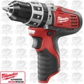 "Milwaukee 2411-20 M12 3/8"" Cordless Hammer Drill Driver"