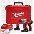 "Milwaukee 2412-22XC 1/2"" M12 SDS-Plus Rotary Hammer Kit"