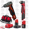 """Milwaukee 2415-20 M12 3/8"""" Right Angle Drill/ProPEX Expansion Tool Kit"""