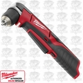 "Milwaukee 2415-20 M12 Cordless 3/8"" Right Angle Drill Driver (Tool Only)"