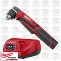 "Milwaukee 2415-21 M12 3/8"" Right Angle Drill/Driver Kit"
