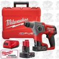 Milwaukee 2416-22XC M12 FUEL SDS Plus Rotary Hammer + 2 Batt Kit