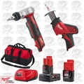 Milwaukee 2420-20 M12 HACKZALL Recip Saw/ProPEX Expansion Tool Kit