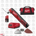 Milwaukee 2426-22 12 Volt M12 Cordless 2-Batt Multi-Tool Kit