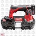 Milwaukee 2429-21XC 12 Volt M12 Cordless Sub-Compact Band Saw Kit Open Box