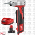 Milwaukee 2432-20 M12 ProPEX Expansion Tool w/ XC 4.0Ah Battery + Charger