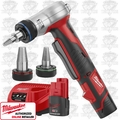 Milwaukee 2432-22 Cordless M12 ProPEX Expansion Tool Kit