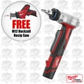 Milwaukee 2432-22 M12 ProPEX Expansion Tool Kit + FREE M12 Hackzall Recip Saw