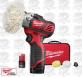 Milwaukee 2438-22 M12 VS Polisher/Sander Kit w/ 2 Compact Batteries