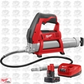 Milwaukee 2446-20 M12 12-Volt Li-Ion Cordless Grease Gun (Tool-Only) Kit