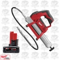 Milwaukee 2446-20 M12 Cordless Power Grease Gun NIB Kit