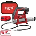 Milwaukee 2446-21XC 12 Volt M12 Cordless Power Grease Gun Kit
