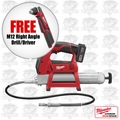 Milwaukee 2446-21XC-X1 M12 Cordless Power Grease Gun Kit