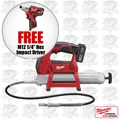 Milwaukee 2446-21XC-X2 M12 Power Grease Gun Kit