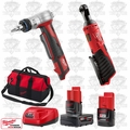 "Milwaukee 2456-20 M12 Cordless 1/4"" Ratchet/ProPEX Expansion Tool Kit"