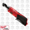 "Milwaukee 2456-20 12V M12 Cordless 1/4"" Ratchet New In Factpkg BT"
