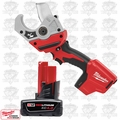 Milwaukee 2470-20 M12 Cordless Lithium-Ion PVC Shear Kit