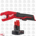 Milwaukee 2471-20-B1 M12 Cordless Copper Tubing Cutter w/ 4.0Ah XC Battery