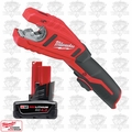 Milwaukee 2471-20 M12 Cordless Lithium-Ion Copper Tubing Cutter
