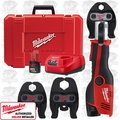 "Milwaukee 2473-22 1/2"" - 1"" M12 Forcelogic Press Tool Kit"