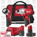 Milwaukee 2490-21 2 Piece Impact Combo Kit