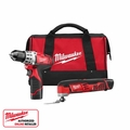 Milwaukee 2495-22 M12 Drill/Multi-Tool Kit