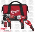 Milwaukee 2499-24 M12 4 Tool Combo Kit
