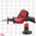 Milwaukee 2520-20 M12 FUEL HACKZALL Reciprocating Saw w/ 4.0Ah XC Battery