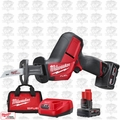 Milwaukee 2520-21XC-B1 M12 FUEL HACKZALL Recip Saw w/ TWO BATTS + Charger