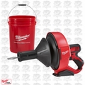 Milwaukee 2571-20 M12 Cordless Drain Snake (Tool Only) O-B