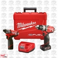 Milwaukee 2594-22 M12 FUEL 2-Tool Drill/Driver & Impact Combo Kit