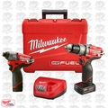 Milwaukee 2597-22 M12 FUEL Hammer Drill Impact Combo Kit Open Box