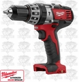 "Milwaukee 2602-20 M18 1/2"" Compact Hammer-Drill / Driver"
